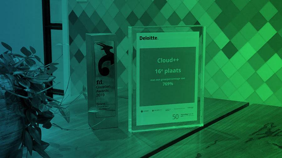 FD Gazellen Awards Bronze - Deloitte Fast 50 | Cloud++